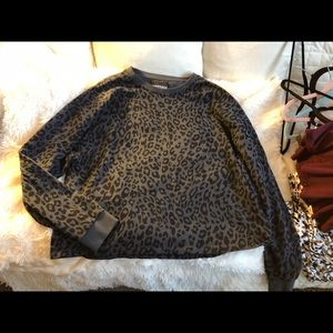 Victoria Sport Leopard Sweatshirt XL, never worn